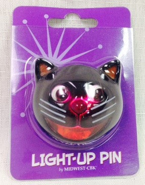 #645406 - CAT LIGHT UP PIN  -  144/CASE