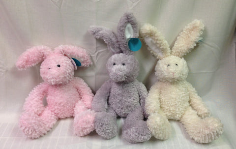 "#65261 - 15"" SITTING BUNNIES - CLAIRE  -  24/CASE"