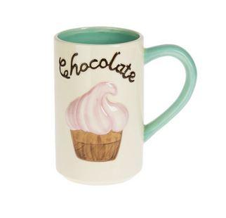 #7106061 - EMBOSSED 25 OZ. CHOCOLATE MUG  -  18/CASE