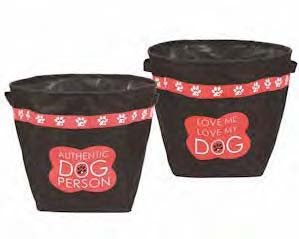 "#7400068 - 13""X15.75"" DOG TOY BASKET POLY  -  24/CASE"