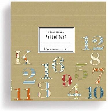 #8020170054 - REMEMBER SCHOOL DAYS JOURNAL PRE-SCHOOL-12  -  10/CASE