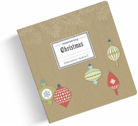 #8020180064 - REMEMBERING CHRISTMAS ORNAMENT PHOTO ALBUM  -  16/CASE