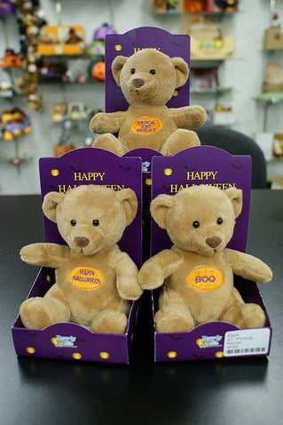 #83004 - HALLOWEEN SENTIMENT BEARS IN A BOX  -  24/CASE