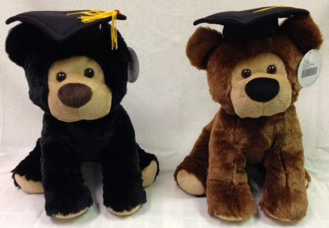 "#902911 - 10""GRAD DOGS W/ HAT 2AT  -  24/CASE"