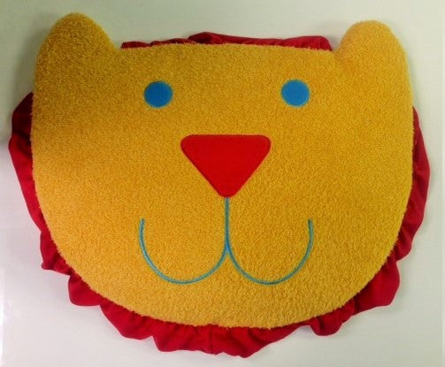 "#981715 - SILLY CIRCUS LION FACE RUG 21""X18"" BATH MAT  -  24/CASE"