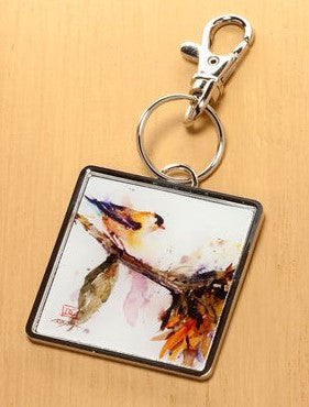 #B5050180 - GOLD FINCH KEYCHAIN  -  120/CASE