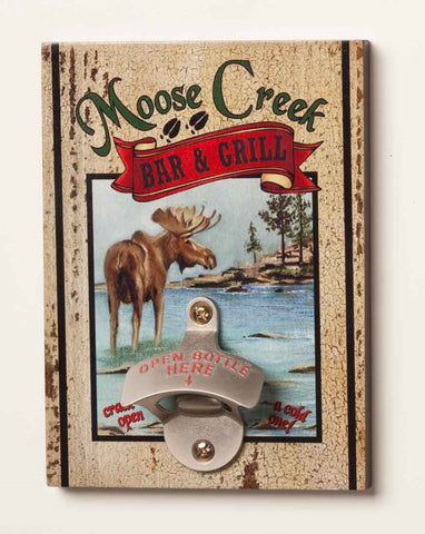 #B5050218 - MOOSE CREEK BAR BOTTLE OPENER  -  20/CASE