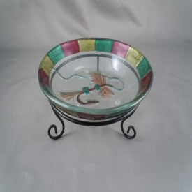 "#B5170129 - 6""D ROYAL WULFF CANDY DISH  -  24/CASE"