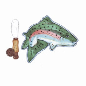 "#B5170137 - 5X5""JUMPING TROUT PLATE/ SPREADER SET  -  24/CASE"
