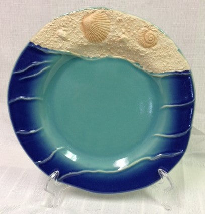 "#B5170184 - S/4 9""D WAVE SALAD PLATES  -  4/CASE"