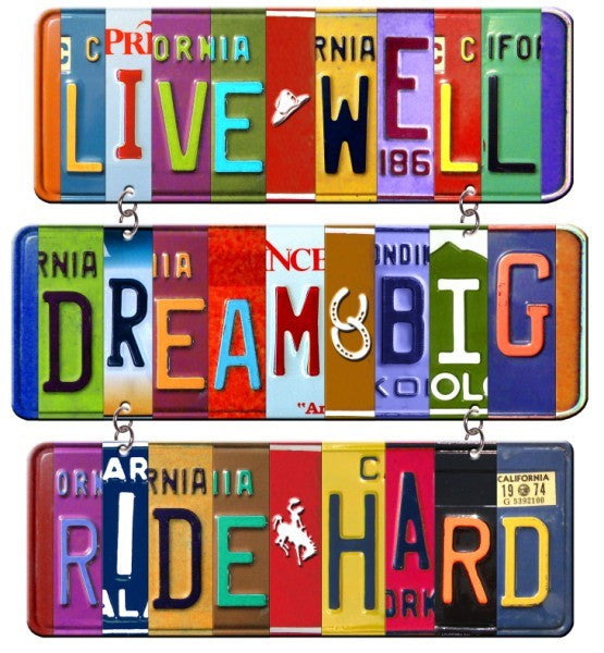 "#B5210076 - 17""X19.25"" LIVE WELL VANITY PLATE WALL ART  -  8/CASE"