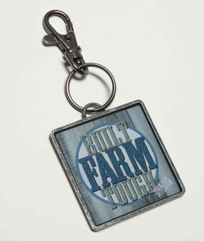 "#B5210203 - 4.25""KEYCHAIN-BUILT FARM TOUGH  -  120/CASE"