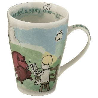 #CBS422 - 15 OZ.MUG-COCK AND BULL STORY  -  32/CASE