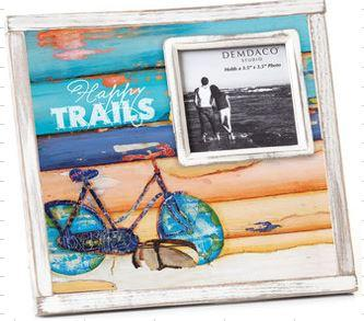 "#D1003150018 - 8.5""SQ.HAPPY TRAILS FRAME 3.5"" CULTURE OF CALM  -  12/CASE"