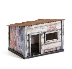 "#D1003150052 - 8X6"" FISHING SHACK SCULPTURE CULTURE CALM  -  8/CASE"