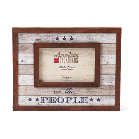 "#D1003250075 - 4""X6"" WE THE PEOPLE FRAME AMERICAN BACKROADS  -  12/CASE"