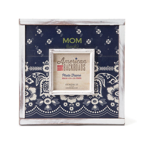 "#D1003250092 - 8.5""SQUARE MOM (HURRAH!)FRAME 3.5""SQ.AMERICANA  -  12/CASE"