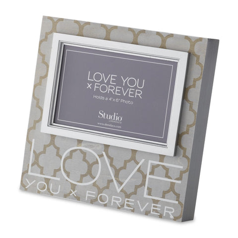 "#D1003490004 - 4""X6""LOVE YOU FOREVER FRAME  -  12/CASE"