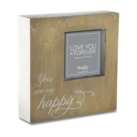"#D1003490007 - 4""SQ.FRAME-YOU ARE MY HAPPY  -  12/CASE"