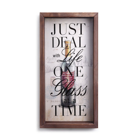 "#D1003680050 - 20""H CORK STORAGE WALL ART  -  4/CASE"