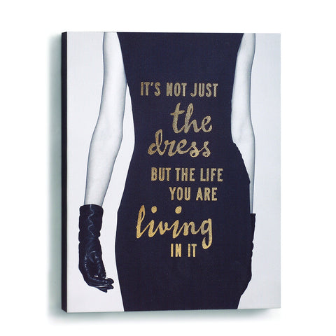 "#D1003700013 - 8""X10"" LIFE YOU ARE LIVING WALL ART  -  12/CASE"