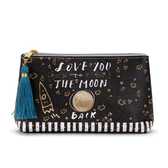 #D1003880164 - COSMETIC POUCH-LOVE YOU TO THE MOON  -  200/CASE