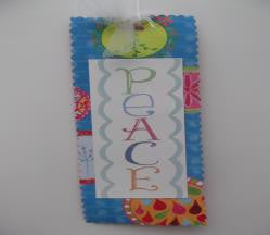 "#D100389 - 7""H PEACE BOOKMARK  -  288/CASE"