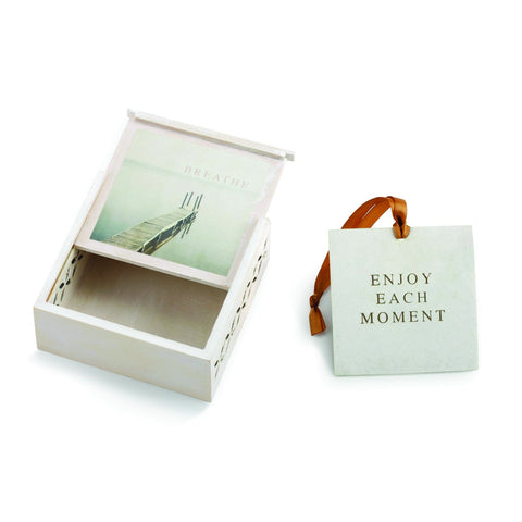 "#D1003920011 - 3.5""SQ.BREATHE SACHET BOX-EACH MOMENT  -  96/CASE"