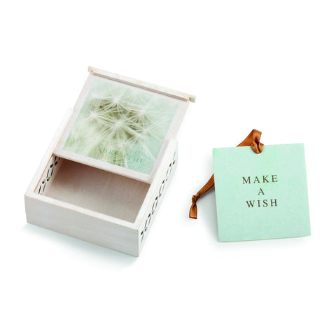 "#D1003920012 - 3.5""SQ.BREATHE SACHET BOX-MAKE A WISH  -  96/CASE"