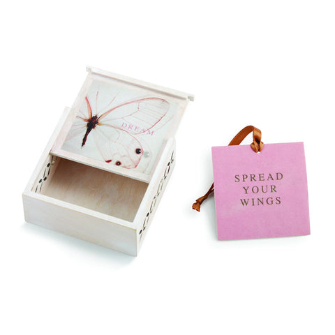 "#D1003920022 - 3.5""SQ.DREAM SACHET BOX-SPREAD YOUR WINGS  -  96/CASE"