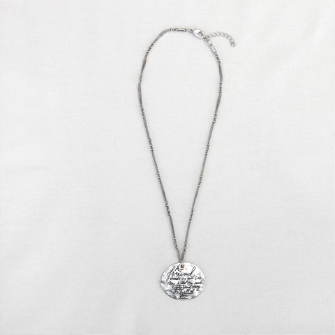 "#D1003990023 - 18""MESSAGE NECKLACE-FRIEND  -  200/CASE"