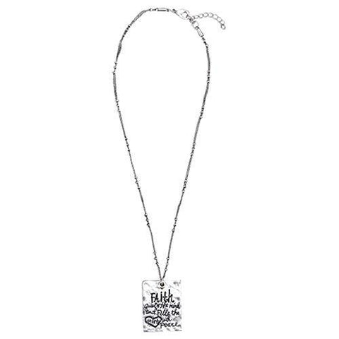 "#D1003990024 - 18""MESSAGE NECKLACE-COURAGE  -  200/CASE"