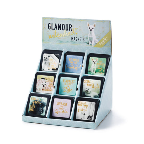 #D1004060017 - GLAMOUR UNLEASHED MAGNETS  -  288/CASE