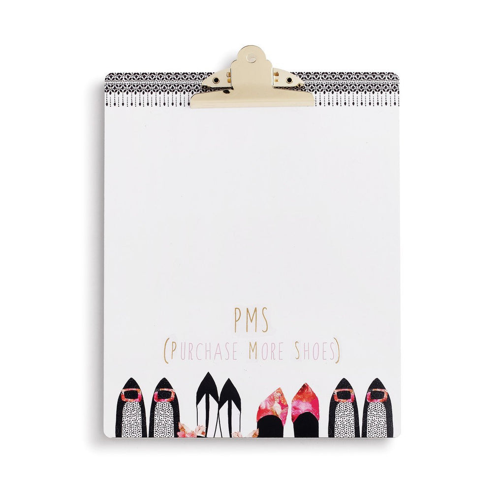 #D1004150026 - PURCHASE MORE SHOES CLIPBOARD  -  12/CASE
