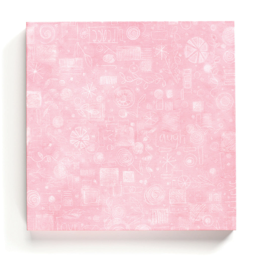 "#D100771 - 16""SQ.PINK COLLAGE MAG.BOARD  -  6/CASE"