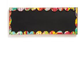 "#D101245 - RECTANGLE CHALKBOARD SIGN 24"" X 6""  -  8/CASE"