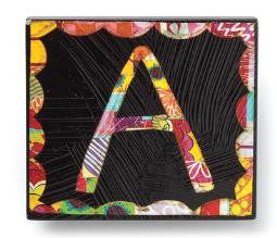 "#D101254 - ""A"" MAGNET CLIP-COLORFUL DEVOTIONS  -  48/CASE"