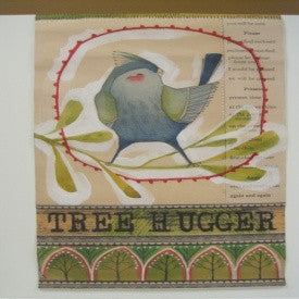 "#D101414 - 21X31"" TREE HUGGER BANNER  -  24/CASE"
