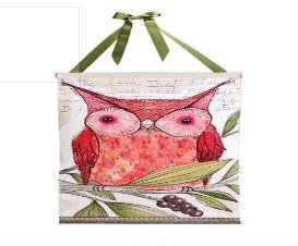 "#D101415 - 21""H X 31""H RED OWL BANNER  -  24/CASE"