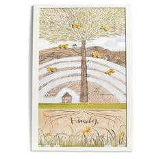 "#D101422 - 16""WX38""H FAMILY TREE WALL ART W/6 MAGNETS  -  1/CASE"