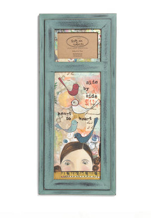 "#D101532 - 24""H SIDE BY SIDE WALL ART AND FRAME KELLY RAE ROBERTS  -  6/CASE"