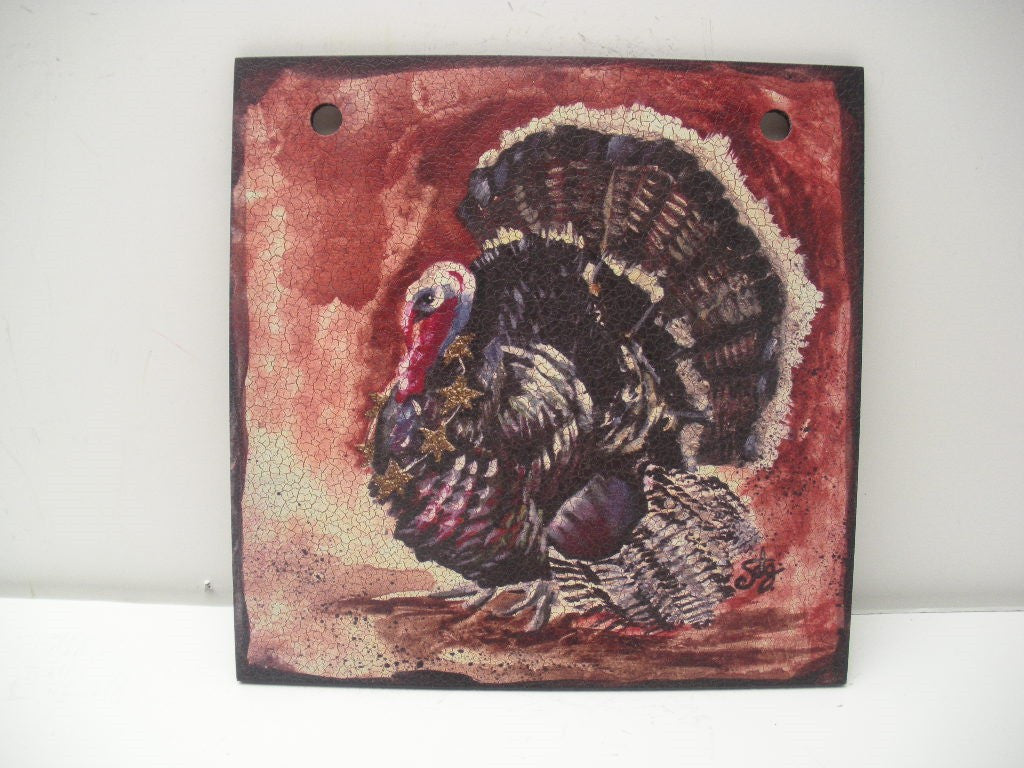 "#D101833 - 6""SQ.TURKEY HOLIDAY STYLE TILE  -  48/CASE"