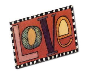 "#D102541 - 5.5HX10.5""W LOVE TILE-FAMILY  -  12/CASE"
