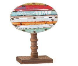 "#D103026 - 11.5""BEACH TIME PEDESTAL CULTURE CALM  -  12/CASE"