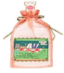 #D18683 - CURLY GIRL THANKFUL WINE BAG  -  300/CASE