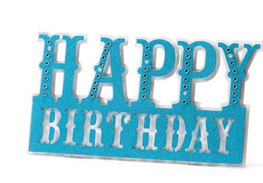 #D2020140480 - HAPPY BIRTHDAY LED SIGN  -  20/CASE