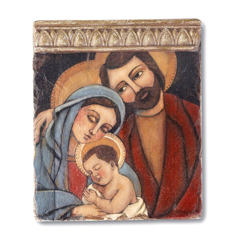 "#D2020150283 - 6""X7""HOLY FAMILY TILE WALL ART  -  24/CASE"