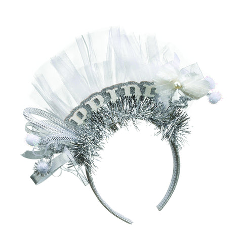 #D2020150666 - BRIDE HEADBAND  -  8/CASE