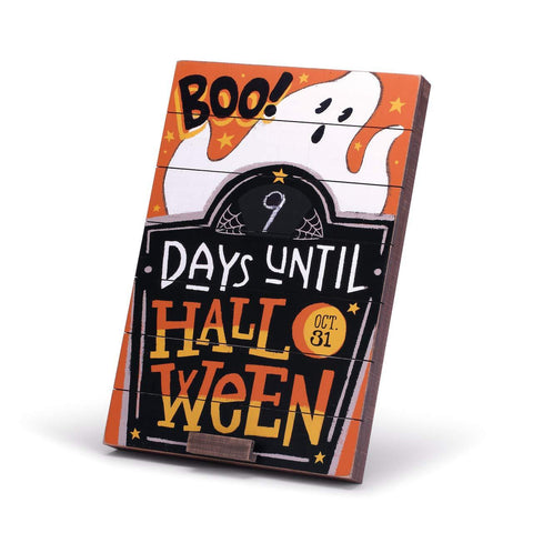"#D2020170082 - 12""X18"" HALLOWEEN COUNTDOWN WALL ART  -  6/CASE"