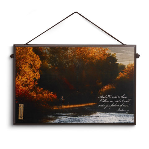 #D3005050452 - RC AUTUMN FLY FISHING 10X6.5 PLAQUE  -  12/CASE